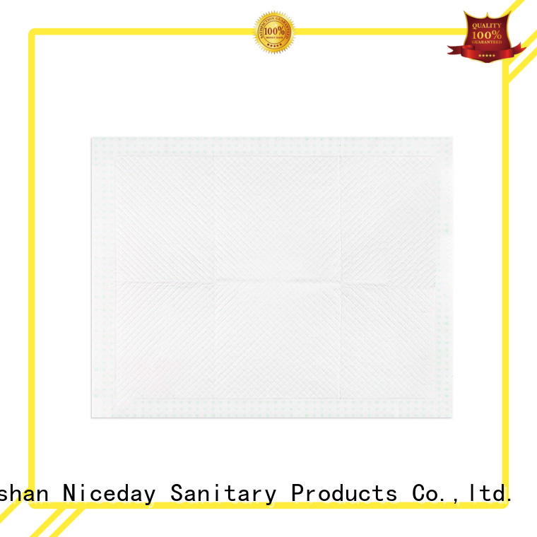 Niceday Brand non-woven blue breathable disposable pads