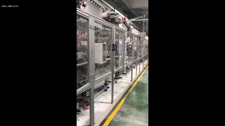 Our fully automatic production line