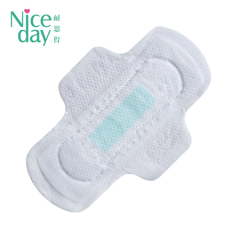 Carefree soft touch and high quality sanitary napkin super wings sanitary towels customized woman health pad NDOD-1-Niceday