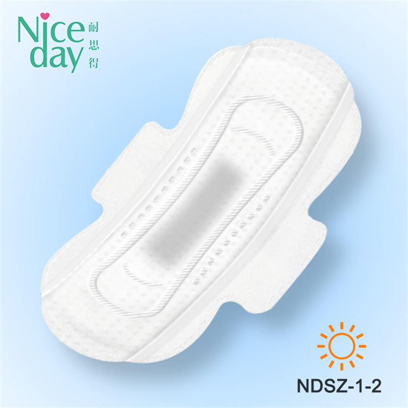 Super Absorbent adult sanitary napkins herb softcare biodegradable sanitary pads with factory priceNDSZ-1-Niceday