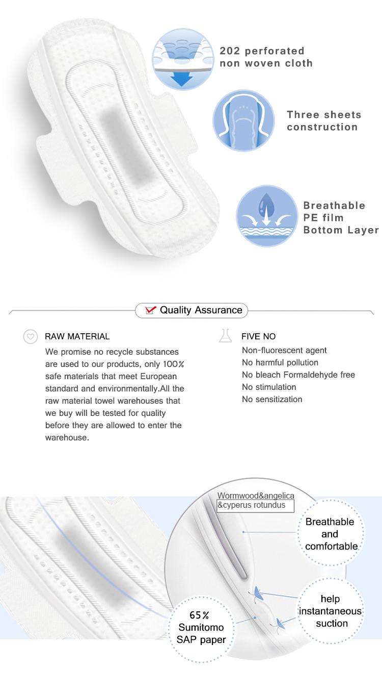 Niceday High-quality using sanitary pads company for period-2