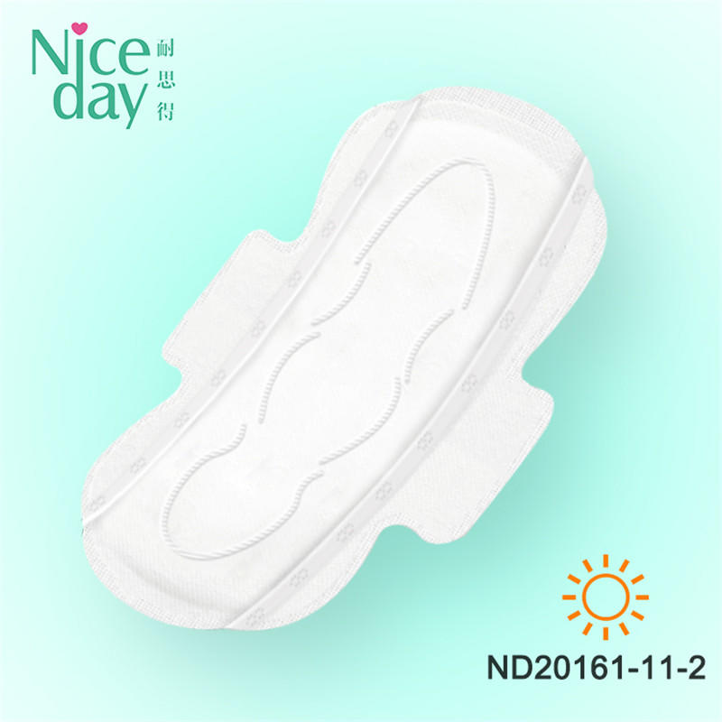 100% organic cotton without chip sanitary napkin ND20161-11-Niceday
