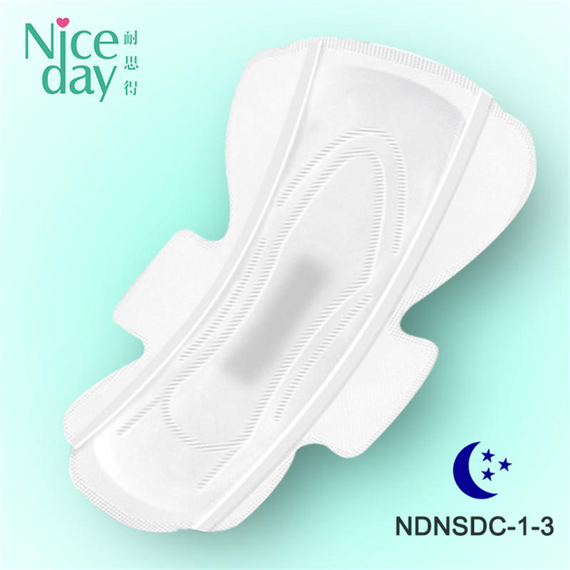 China wholesale Brand Name custom Ladies herb pure cotton Sanitary Napkins NDNSDC-1-Niceday