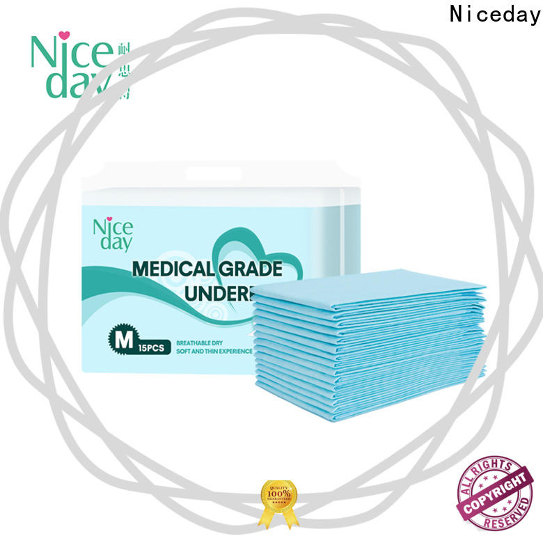 Niceday medical large incontinence pads for sale for adult