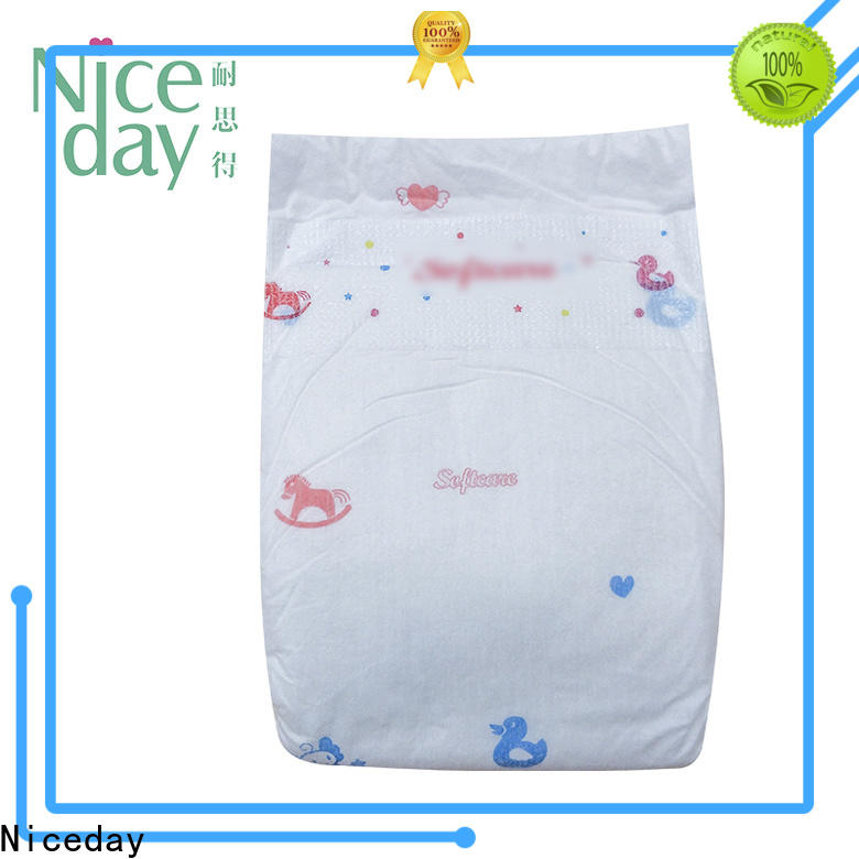 Niceday Customized top baby diapers suppliers for baby girl