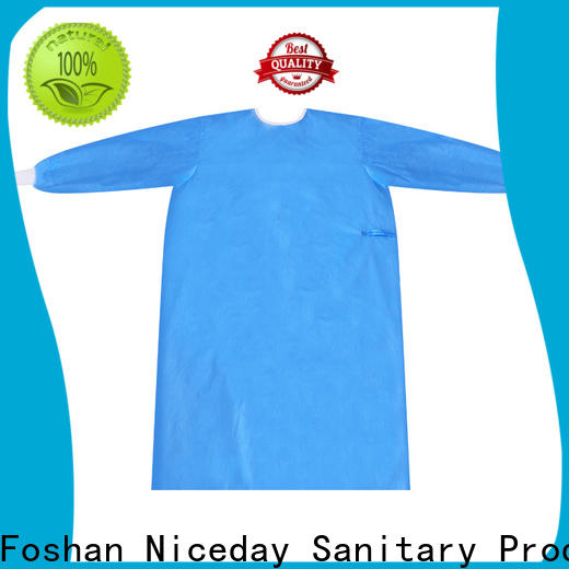 Niceday Best selling protective coverall suit price for medical use