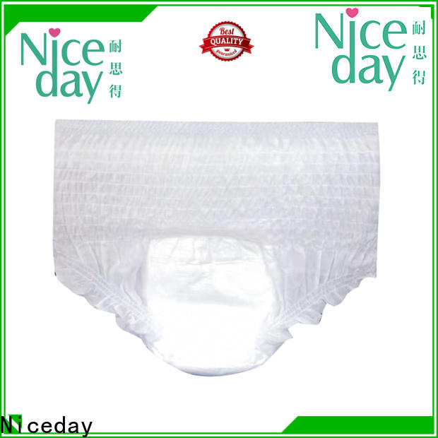 Niceday Custom maded adult diapers for women price for absorption