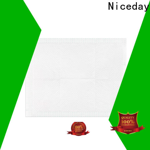 Niceday absorbent disposable under pad factory for baby