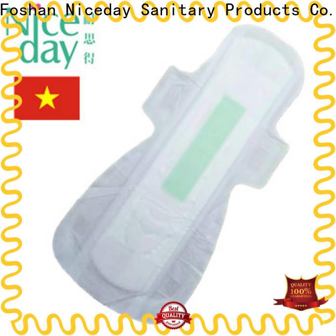 Niceday Custom maded cheap feminine pads for ladies