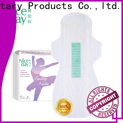 Custom maded natural sanitary towels liners for sale for girls