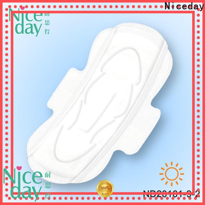 Niceday negative sanitary napkin with wings price for feminine