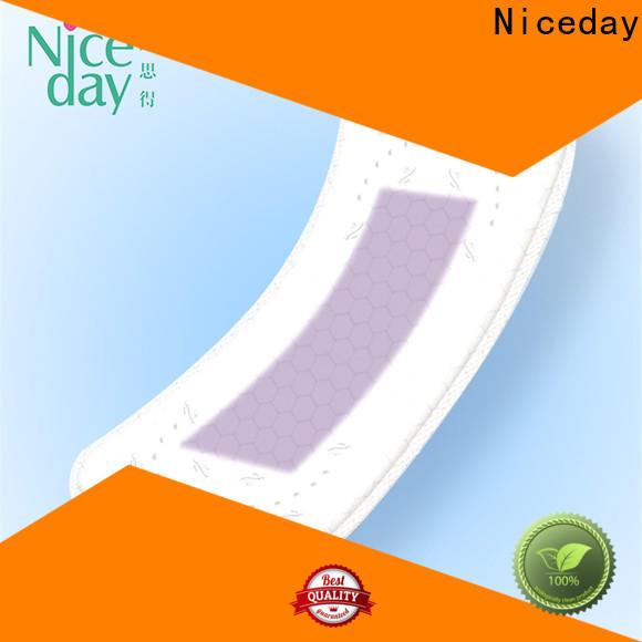 Niceday Custom maded soft sanitary pads factory for ladies