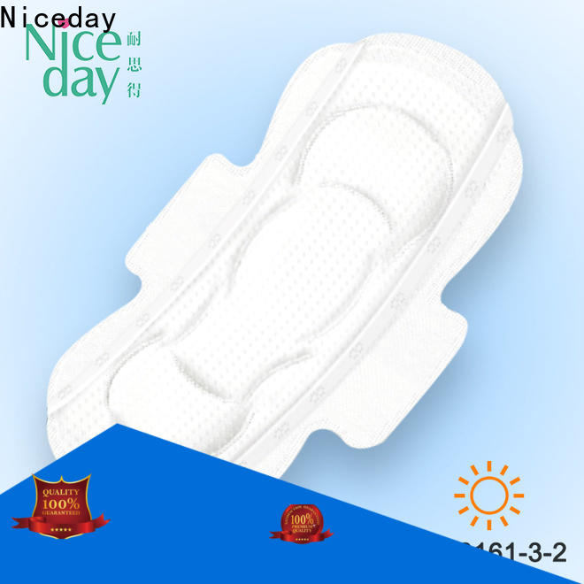 Niceday feminine best cotton menstrual pads factory for feminine