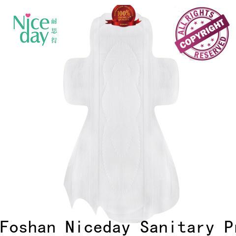 Niceday leakage longest sanitary pads factory for girls