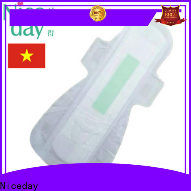 Niceday purple types of sanitary pads in india suppliers for women