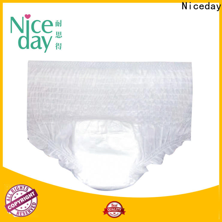 Niceday adult thin adult diapers factory for absorption