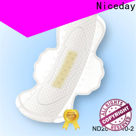 Niceday Customized natural sanitary pads company for ladies