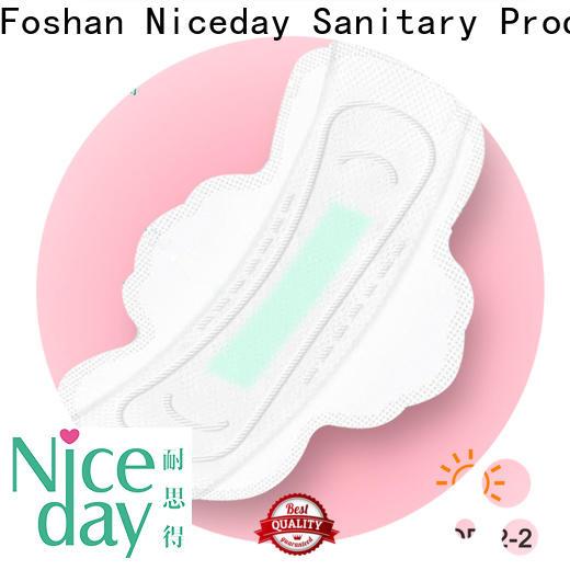 Niceday negative women's sanitary napkins suppliers for feminine