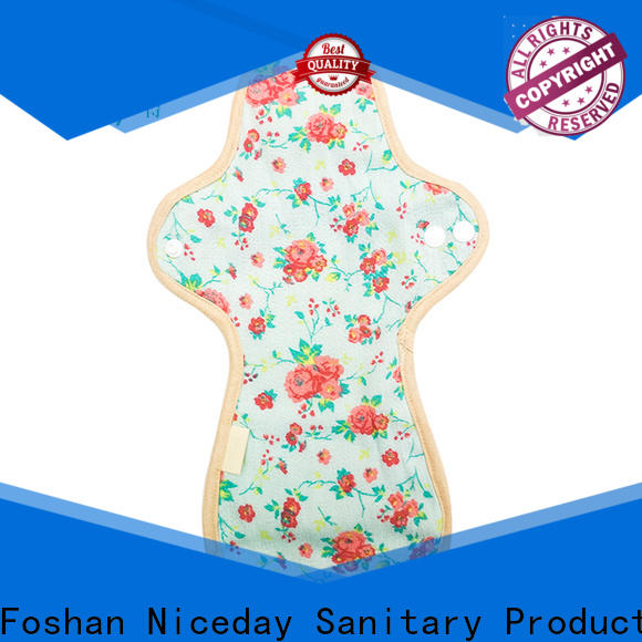 Niceday reusable cotton menstrual pads for ladies