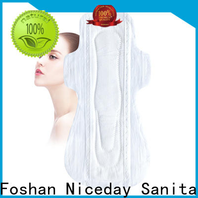 High-quality sanitary pads sizes different suppliers for female