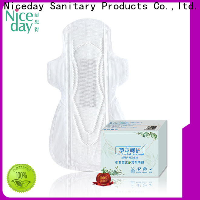 Niceday touch feminine pads supply for female