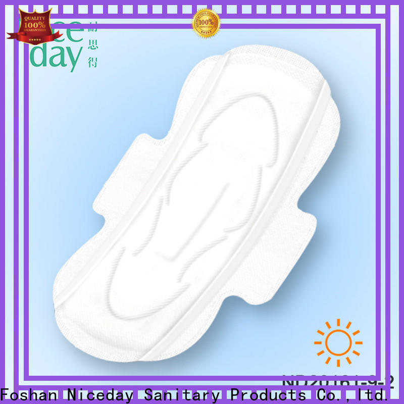 Niceday unbranded natural sanitary napkins company for feminine