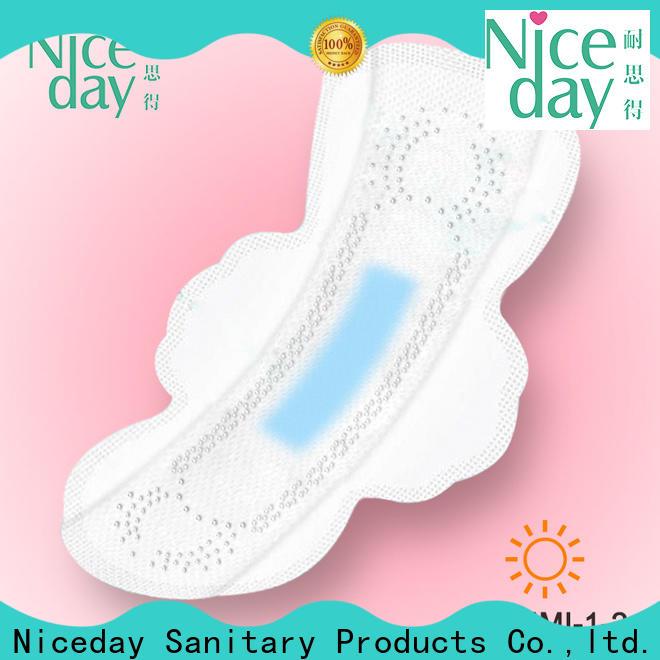 Customized organic sanitary pads night suppliers for feminine