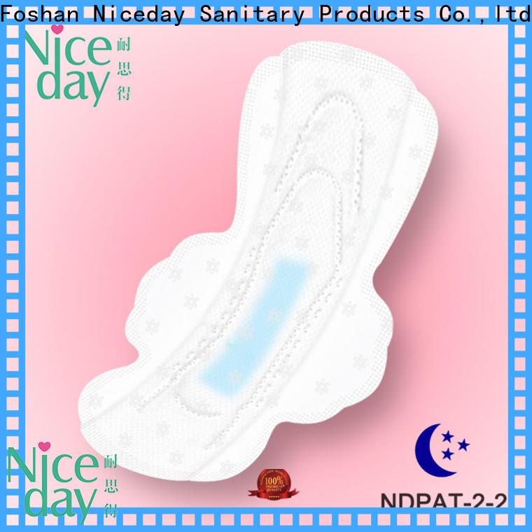 Niceday day free sanitary napkins brand for female