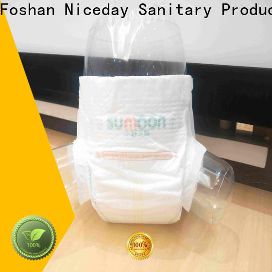 Niceday Custom maded baby products diapers factory for baby boy