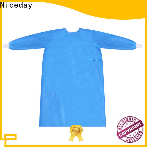 Niceday protective coverall suit factory for virus prevention