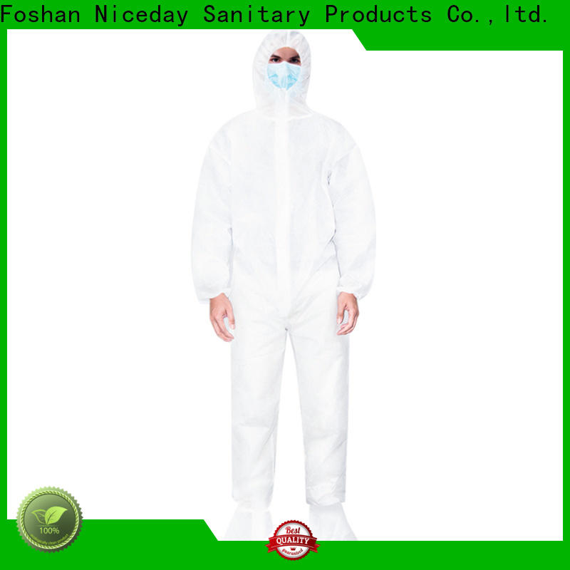 Niceday protective coveralls price for medical use