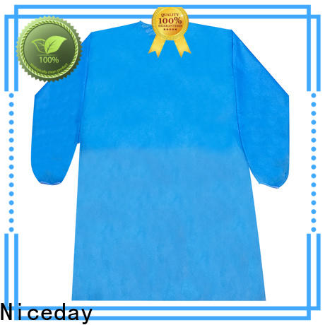 Niceday Customized chemical coveralls brand for medical use