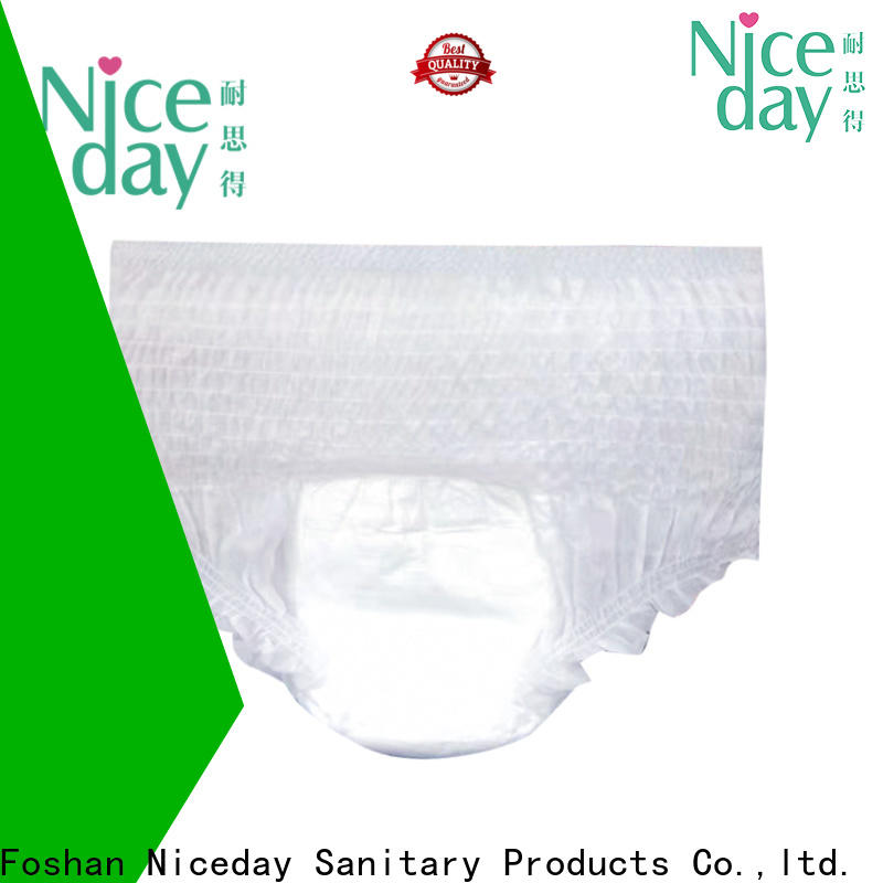 Niceday Bulk free adult diapers distributor for absorption