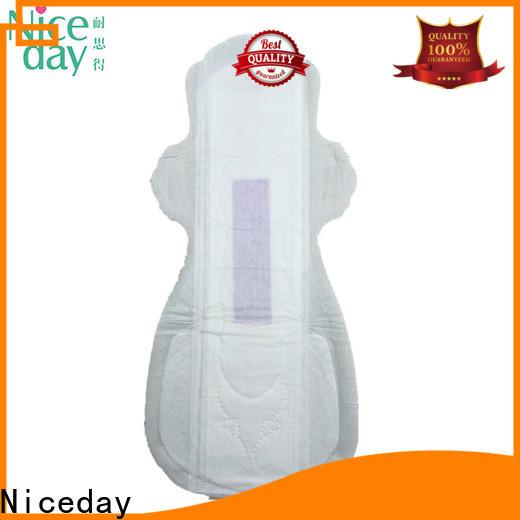 Niceday natural feminine pads factory for ladies
