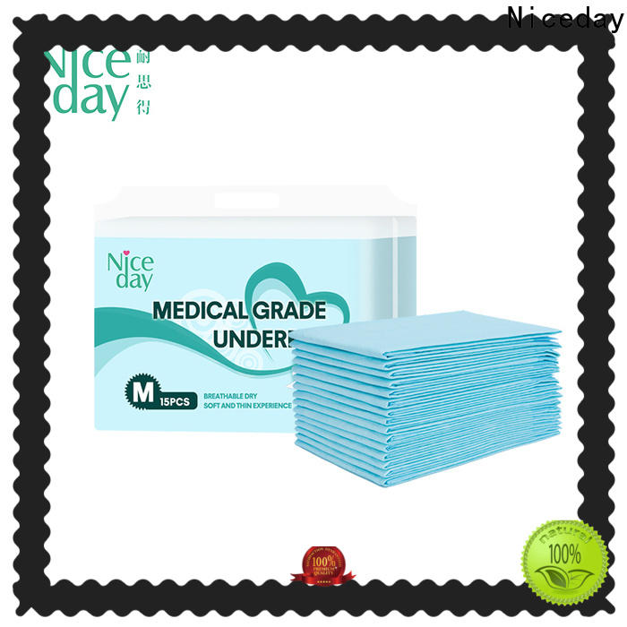 Purchase blue disposable underpads absorbent factory for adult