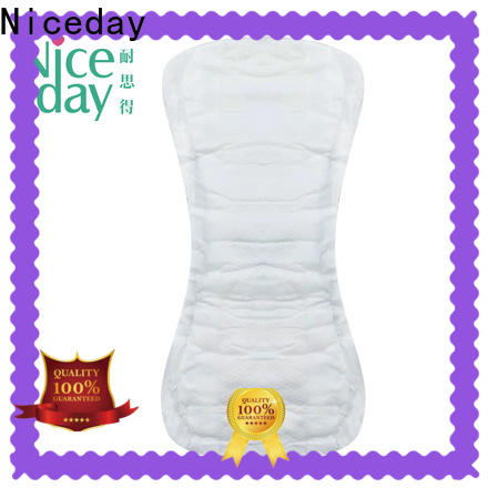 Niceday breathable post pregnancy pads supply for girl