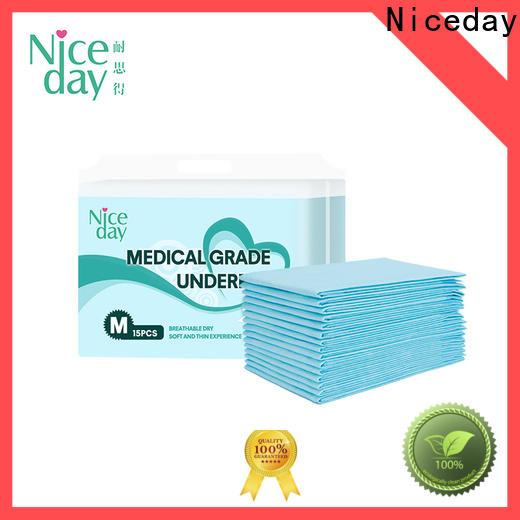 Custom chucks hospital pads blue supply for adult