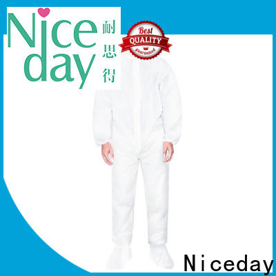 Niceday chemical resistant suits manufacturers for medical use