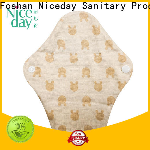 Niceday sanitary reusable panty liners factory for ladies