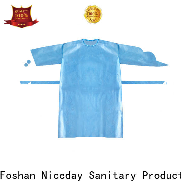 Niceday safety clothing price for medical use