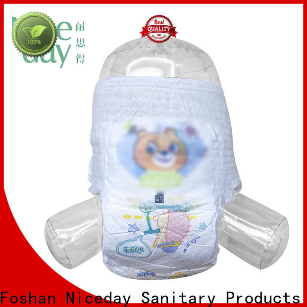 Niceday lraw diapers for babies with sensitive skin wholesale for baby boy