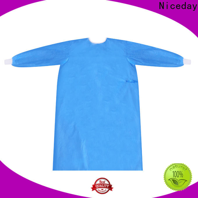 Niceday Professional protective coverall suit brand for virus prevention