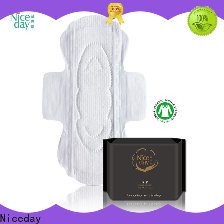 Niceday Custom maded using sanitary pads manufacturers for girls