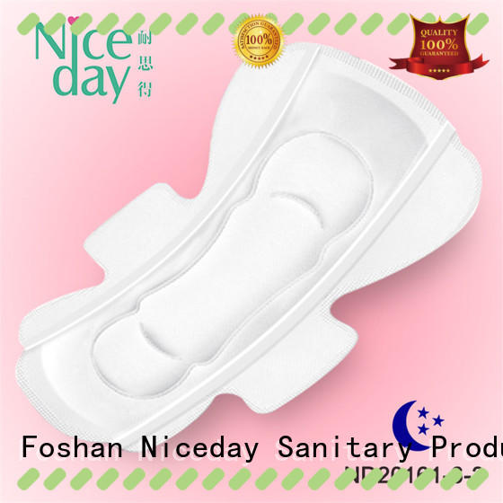 Niceday breathable period pads fiber period