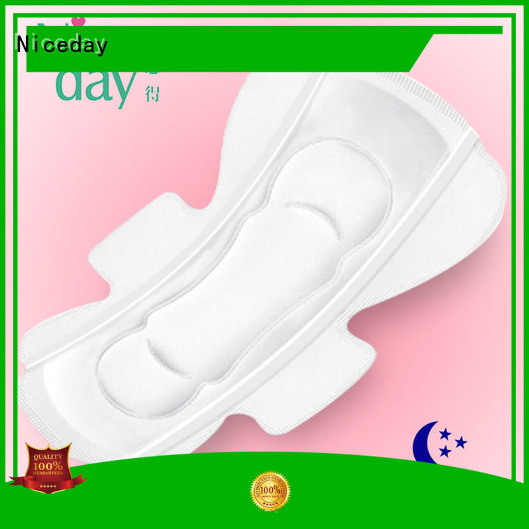 Niceday cost sanitary towel nonwoven for period