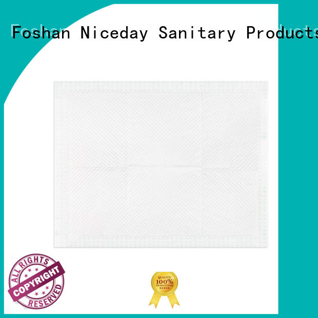 Niceday disposable disposable bed pads customize for baby