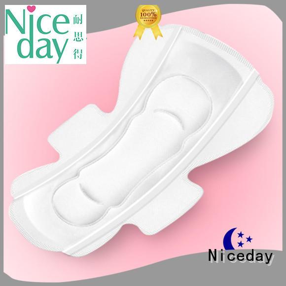purple women's sanitary pads export fiber for women