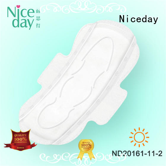 Niceday breathable free sanitary napkins wormwood girls