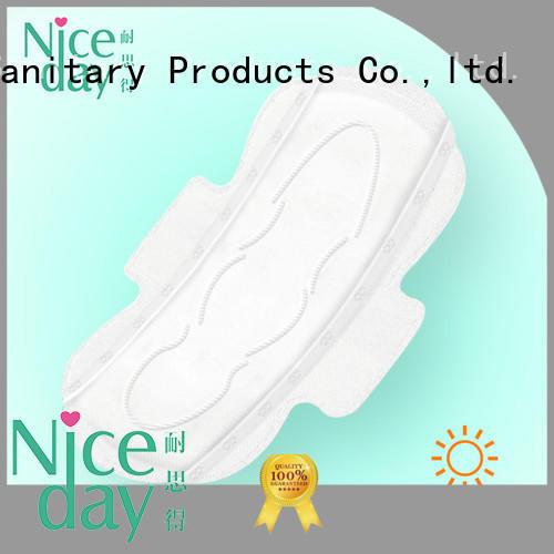Niceday bamboo female pads wholesales for feminine
