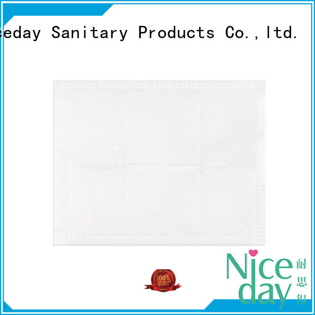 Niceday blue adult bed pads underpad for baby